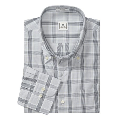 Peter Millar Classic Plaid Shirt - Button-Down Collar, Long Sleeve (For Men)