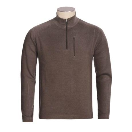 Meister Nevado Sweater - Zip Neck, Merino Wool (For Men)