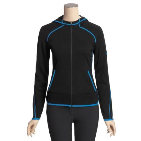 Meister Jenny Hoodie Sweater - Zip Front (For Women)