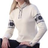 Meister Hannah Sweater - Wool, Zip Neck (For Women)