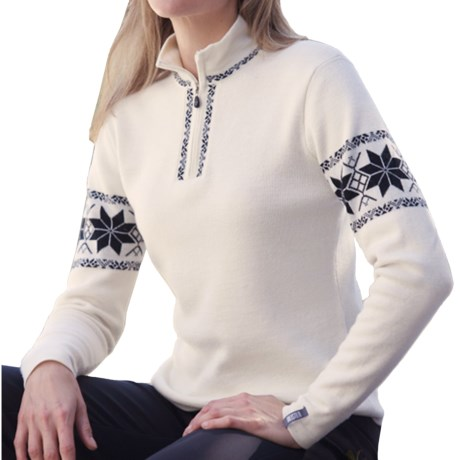 Meister Hannah Sweater - Wool, Zip Neck (For Women)