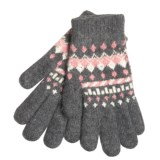 Auclair Soft Touch Gloves - Wool-Angora (For Women)