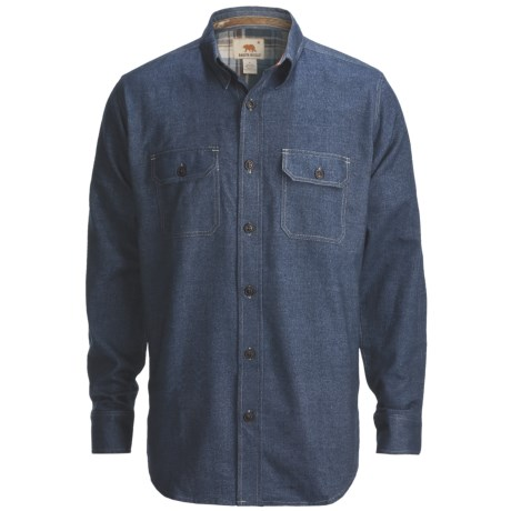 Dakota Grizzly Evan Shirt - Cotton Twill, Long Sleeve (For Men)
