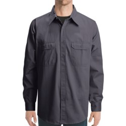 Dakota Grizzly Solid Twill Shirt - Long Sleeve (For Men)