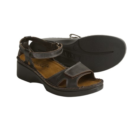 Naot Lugano Leather Sandals - High Scandinavian Collection (For Women)