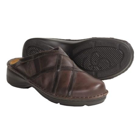 Naot Nolara Leather Clogs (For Women)