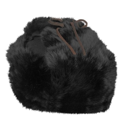 American Classics Trooper Aviator Hat - Insulated, Rabbit Fur, Canvas (For Men and Women)