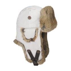 Mad Bomber® Railroad Stripe Aviator Hat (For Men and Women)