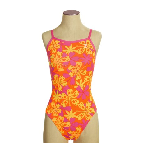 TYR Funkies Competition Swimsuit - Diamond Back, 1-Piece (For Women)