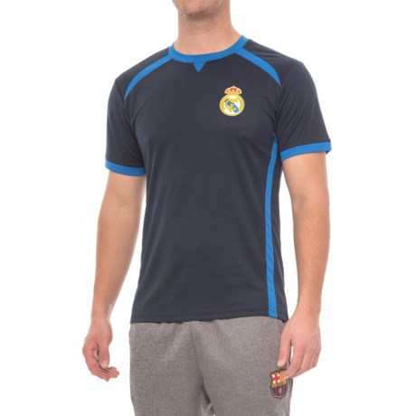 Real Madrid Running T-Shirt - Short Sleeve (For Men)