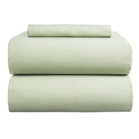 Coyuchi Sateen Sheet Set - Twin, Organic Cotton