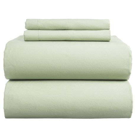 Coyuchi Sateen Sheet Set - California King, Organic Cotton