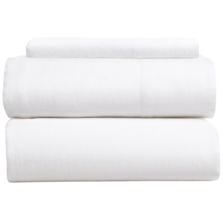 Coyuchi Relaxed Linen Sheet Set - Twin