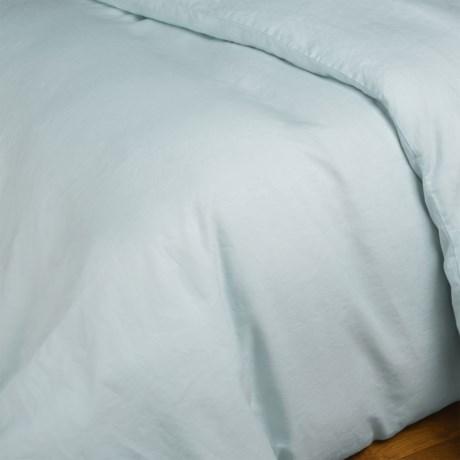 Coyuchi Relaxed Linen Duvet Cover - Twin