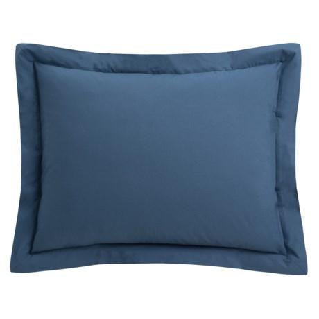 Coyuchi Percale Pillow Sham - Standard, 220 TC, Organic Cotton