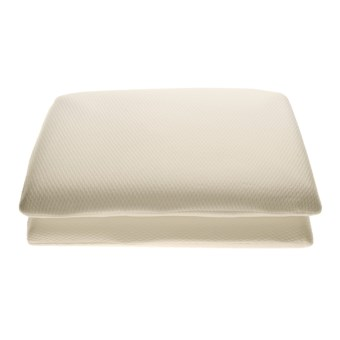Nice thin pillow soft tex conventional pillows 2 pack for Best soft memory foam pillow