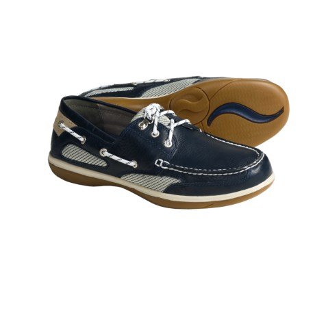 Sebago Castine Leather Boat Shoes (For Women)