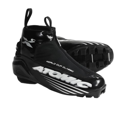Atomic World Cup Classic Nordic Ski Boots - SNS Pilot (For Men and Women)