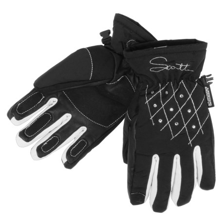 Scott Jade Soft Shell Gloves - Insulated (For Women)