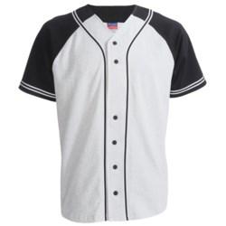 Champion Baseball Shirt - Short Sleeve (For Men and Women)