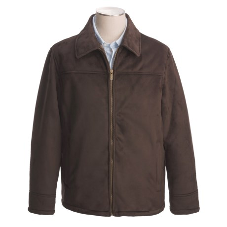Chaps Faux-Shearling Microsuede Jacket (For Men)