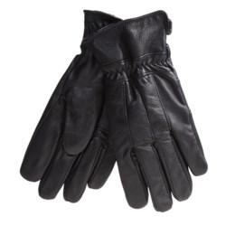 Excelled Lambskin Gloves - Fleece Lined (For Men)