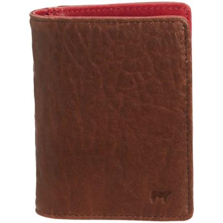Will Leather Goods Bi-Fold Pocket Wallet - Leather (For Men)
