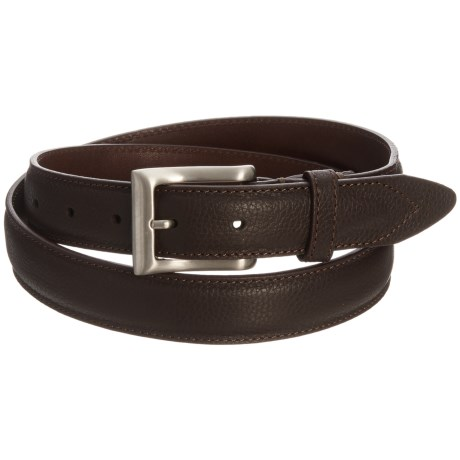Will Leather Goods Trapunto Leather Belt (For Men)