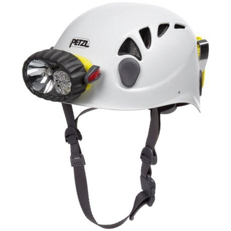 Petzl Spelios Helmet with Duo LED Headlamp - 67 Lumens (For Men and Women)