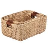Honey Can Do Woven Nesting Baskets - Set of 3