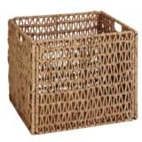 Honey Can Do Folding Basket - Woven Seagrass