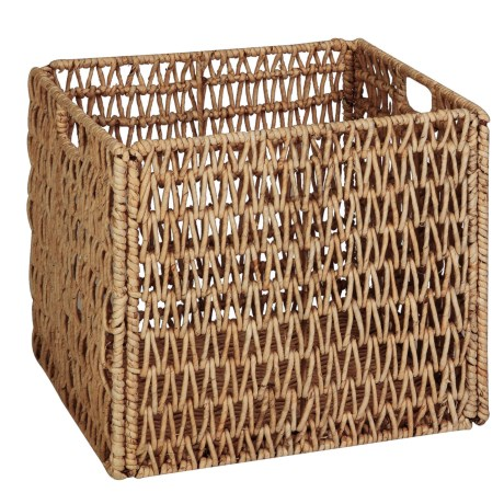 Honey Can Do Folding Basket - Woven Seagrass