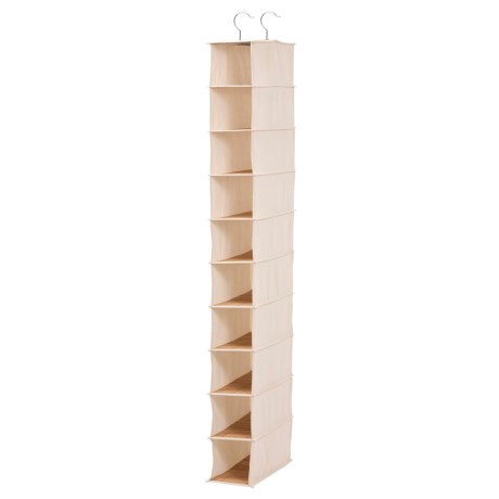 Honey Can Do Bamboo Hanging Organizer - 10-Shelf