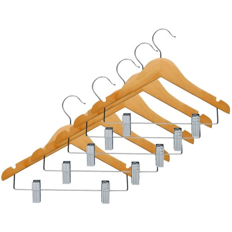 Honey Can Do Clamp Pant Hangers - 5-Pack (For Kids)
