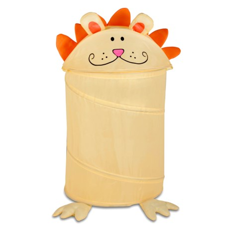 Honey Can Do Lion Pop-Up Hamper - Medium (For Kids)