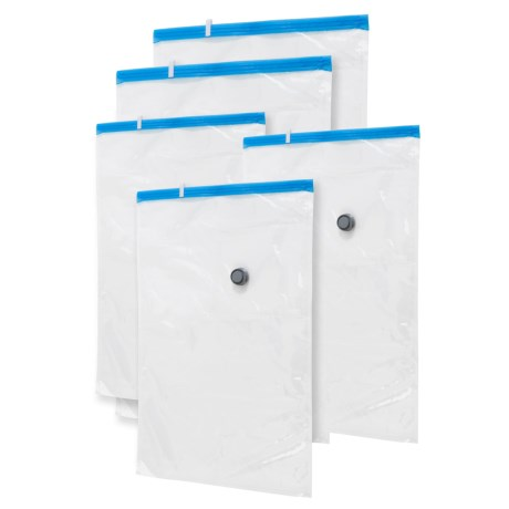 Honey Can Do Vacuum-Pack Storage Bags Set - 5-Pack