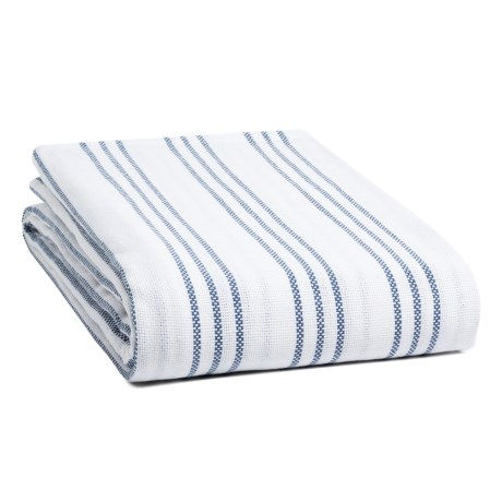 Melange Home Triple-Stripe Blanket - Full-Queen