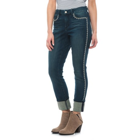 NYDJ Alina Cuffed Ankle Jeans (For Women)