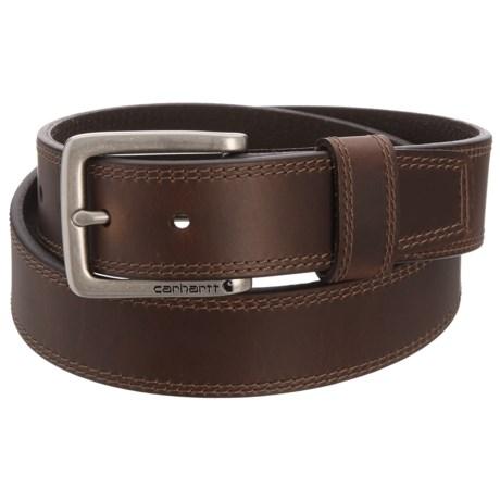 Carhartt Hamilton Harness Buckle Belt - Leather (For Men)