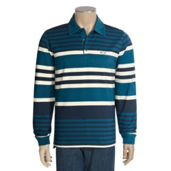 Oakley Bold Rugby Polo Shirt - Long Sleeve (For Men)