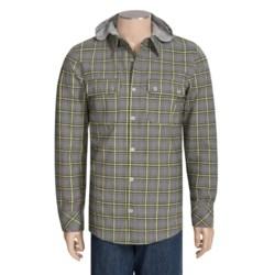 Oakley Transform Hooded Woven Shirt - Long Sleeve (For Men)