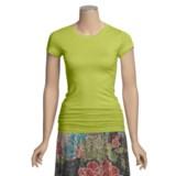 Stephanie B Pima Cotton T-Shirt - Short Sleeve (For Women)