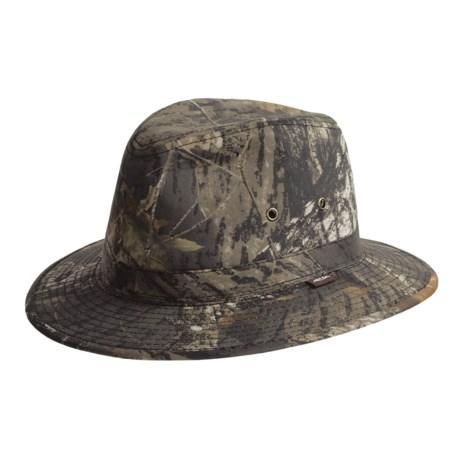 Cov-Ver Fedora Mossy Oak® Hat - Cotton (For Men)