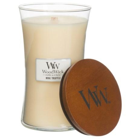 WoodWick Hourglass Candle - Large, Mint Truffle