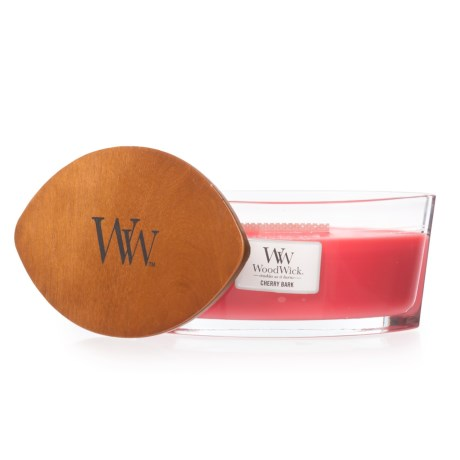 Hearthwick Flame Cherry Bark Ellipse Candle