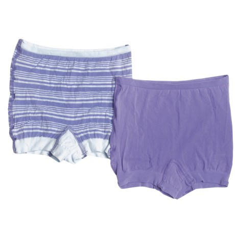 Hanes Perfect Stretch Opaque Underwear - Boy Shorts, 2-Pack (For Women)