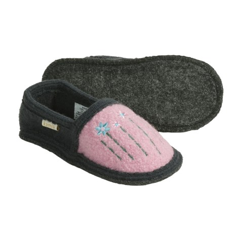 Kamik Hazel Slippers - Recycled Boiled Wool, Slip-Ons (For Girls and Little Girls)