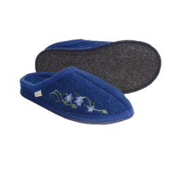 Kamik Lazy Day Slippers - Recycled Boiled Wool (For Women)