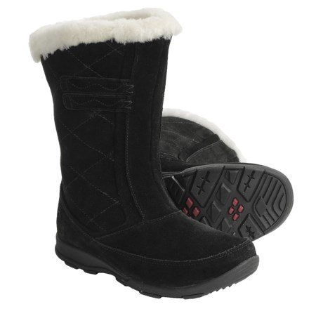Kamik Northbay Quilted Suede Winter Boots - Waterproof, Insulated (For Women)
