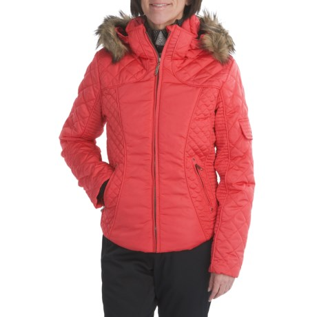 Skea Lulu Insulated Parka - Removable Faux-Fur Trim (For Women)